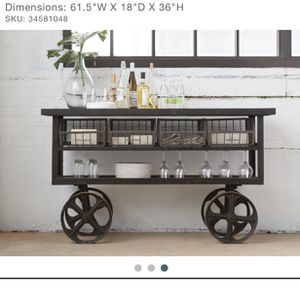 Arhaus Iron console table for Sale in Phoenix, AZ