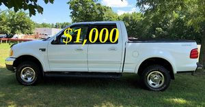 $1,OOO URGENT For sale 2002 Ford F-150 XLT Super Crew Cab 4-Door Runs and drives great! Clean title for Sale in Washington, DC