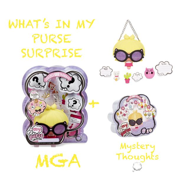 LOL MGA DOLL WHATS IN MY PURSE SURPRISE DOLL PURSE