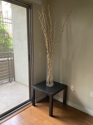 IKEA LACK SIDE TABLE BLACK/BROWN for Sale in Los Angeles, CA