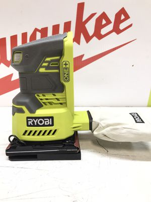 RYOBI 18-Volt ONE+ Cordless 1/4 Sheet Sander (Tool-Only) with Dust Bag for Sale in Bakersfield, CA