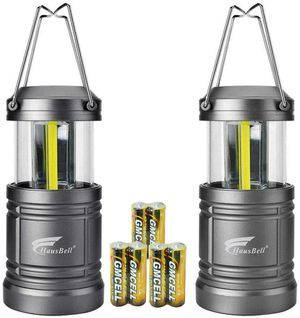 Portable Lanterns with Magnetic Base, cob LED Camping Lantern Collapsible Flashlights - for Sale in New York, NY