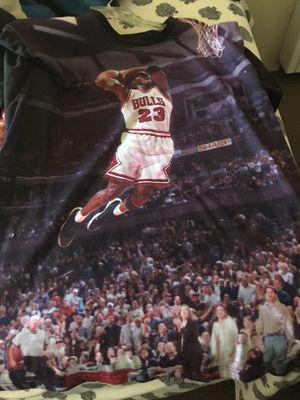 Mj Goat Jordan Iconic take Off pic. XL for Sale in Los Angeles, CA