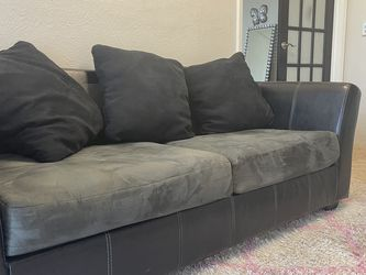 Leather Sofas W/ Suede Cushion for Sale in Dallas,  TX
