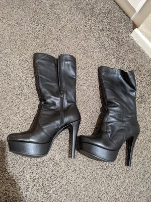 High heeled boots size 6.5 for Sale in Chula Vista, CA
