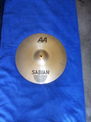 "SABIAN AA Thin crash 18""/46cm for Sale in Fort Worth, TX"