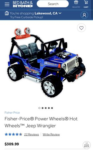 Jeep Wrangler power wheels for Sale in Los Angeles, CA
