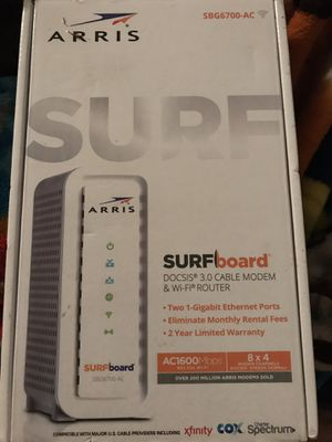 Arris modem & WiFi router for Sale in Houston, TX
