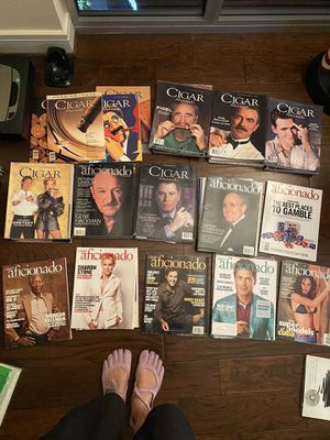 Cigar Aficionado Bundle Set Lot of Magazine From First edition for Sale in Austin, TX