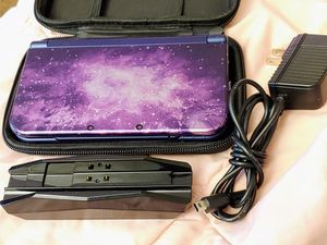 NEW NINTENDO 3DSXL LIMITED GALAXY EDITION IN MINT CONDITION WITH CHARGING DOCK & CASE 100%💥💥 for Sale in Escondido, CA