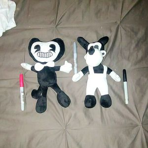 Bendy And The Ink Machine Plushies for Sale in Los Angeles, CA