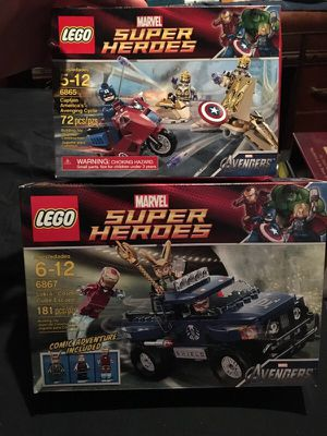Lego Marvel Super Heroes Sealed for Sale in Rockville, MD