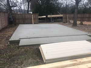 Garages sheds concrete slabs and cabins for Sale in Dallas, TX