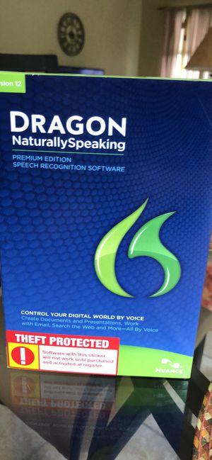 Dragon voice recognition software for Sale in Mount Laurel Township, NJ