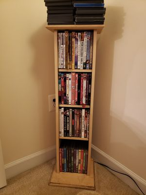 DVD Stand w/DVDs for Sale in Alexandria, VA