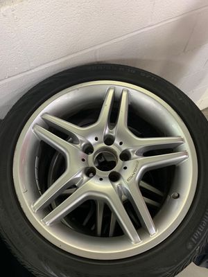 MERCEDES WHEEL/TIRE SET for Sale in Silver Spring, MD