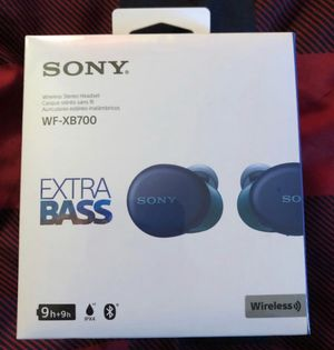 Sony extra bass wireless stereo headset for Sale in Brooklyn, NY