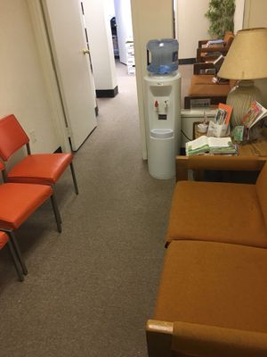 Medical office relocated and has some really reliable furniture left that can be used, couches file cabinets for Sale in Baltimore, MD