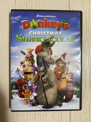 DREAMWORKS DONKEY'S CHRISTMAS SHREKTACULAR DVD SHREK for Sale in Bartlett, IL