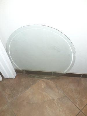 """26"""" Round tempered glass top beveled edge for Sale in Glendale, AZ"""