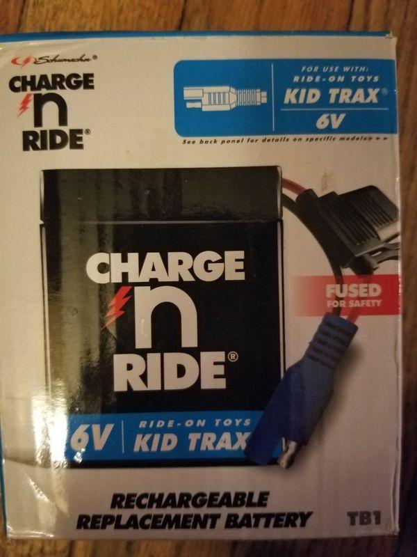 6V Kid Trax Ride On Battery