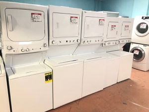 """27"""" Stackable washer and dryer 90 days warranty for Sale in Garrison, MD"""