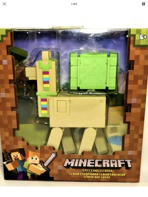Minecraft - Spitting Llama - Unique Action - Rare - Brand New - Exclusive Toys - Holiday Sale for Sale in Hawthorne, CA