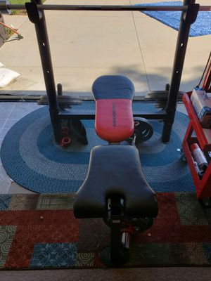Joe Weider Olympic weight set for Sale in Bell Canyon, CA