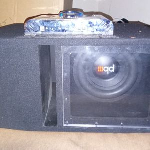 Pb Subwoofer/Phonics Digital 600watts 2channel Amp for Sale in Los Angeles, CA