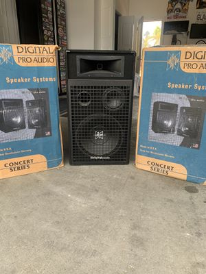 Digital pro audio concert series speakers for Sale in Tracy, CA