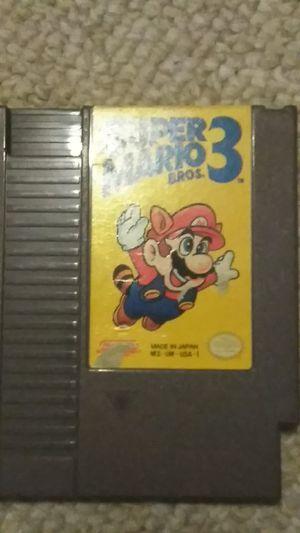 Nintendo NES Super Mario Bros 3. for Sale in Elkridge, MD