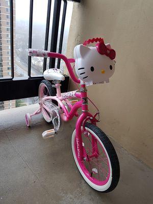 16Hello kitty bike for Sale in Arlington, VA