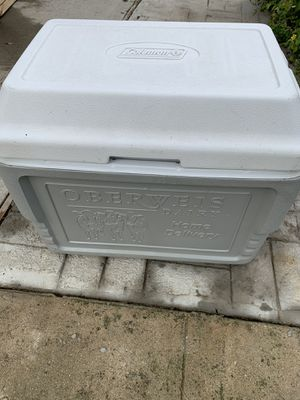 COLEMAN COOLER Oberweis cooler for Sale in St. Louis, MO