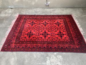High quality Afghan Rug hand made for Sale in North Highlands, CA