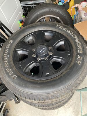 Ram 2500 tires and rims for Sale in Wilmington, NC