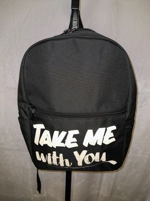 Black Take Me With You Backpack for Sale in Duluth, GA