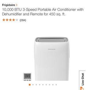 Frigidaire portable air conditioner with dehumidifier for Sale in New York, NY