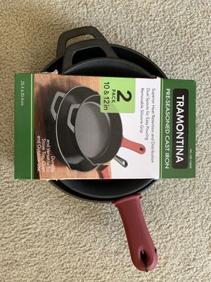 Cast iron pans for Sale in Tampa, FL