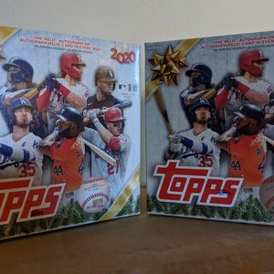 2020 Topps Holiday MLB Baseball Trading Cards Mega Box for Sale in Chevy Chase, MD