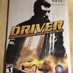 Wii: Driver San Francisco Game for Sale in Winnsboro, SC
