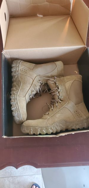 Army boots size 11 for Sale in El Paso, TX