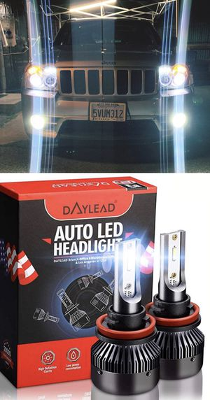 DAYLEAD USA HEADLIGHTS SUPER BRIGHT LED HEADLIGHTS HABLAMOS ESPANOL 25$ PAIR for Sale in Los Angeles, CA