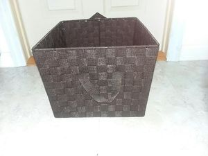 Expresso woven storage bins for Sale in St. Petersburg, FL