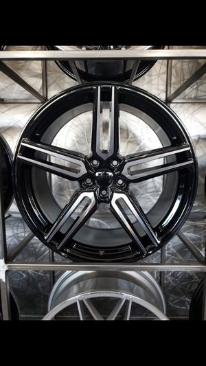 """20"""" staggered wheels fit mustang Infiniti honda accord Camry rim wheel tire shop for Sale in Tempe, AZ"""