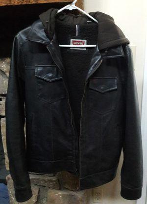 Levis Faux Leather Jacket for Sale in Marietta, GA