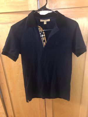 XS men's size new polo Burberry authentic for Sale in Chula Vista, CA