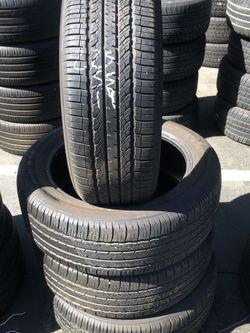 225-55-19 Used Tires 225/55/19 Llantas Usadas for Sale in Fontana,  CA