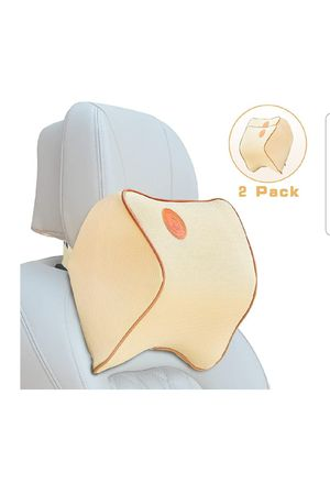 Car Seat Neck Pillow (2 PACK) BEIGE for Sale in Houston, TX