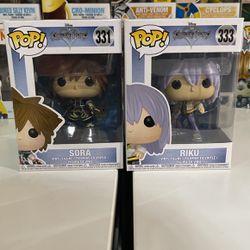 Sora & Riku Funko Pops for Sale in San Jose,  CA