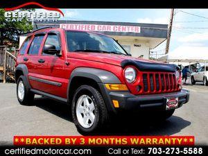 2007 Jeep Liberty for Sale in Fairfax, VA